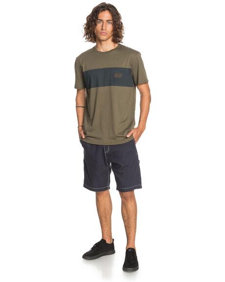 KALAMATA MENS CLOTHING QUIKSILVER TEES - EQYZT06094-GZH0