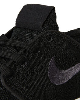 Nike Sb Stefan Janoski Max Mens Low Top Black Black White   Styled With Sass