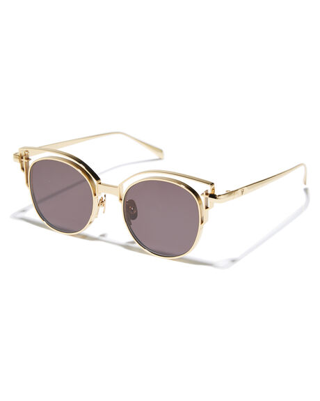 GOLD TITANIUM WOMENS ACCESSORIES VALLEY SUNGLASSES - S0346GLD