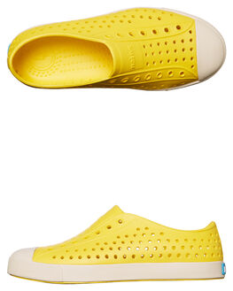 CRAYON YELLOW KIDS GIRLS NATIVE SLIP ONS - 12100100-7522