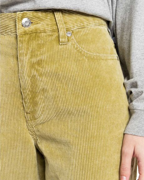SPINACH GREEN WOMENS CLOTHING QUIKSILVER PANTS - EQWNP03034-GMR0
