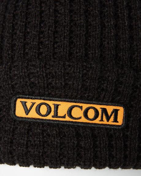 BLACK MENS ACCESSORIES VOLCOM HEADWEAR - D5811900BLK