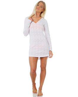 WHITE WOMENS CLOTHING RIP CURL FASHION TOPS - GTEWL11000