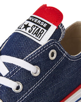 NAVY KIDS GIRLS CONVERSE SNEAKERS - 363704NVY