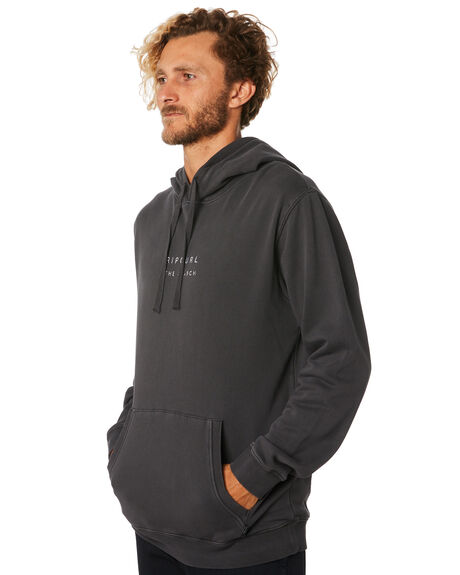 WASHED BLACK MENS CLOTHING RIP CURL JUMPERS - CFEOE18264