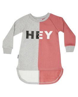 PINK KIDS TODDLER GIRLS TINY TRIBE DRESSES + PLAYSUITS - TTGF19-5015BPINK