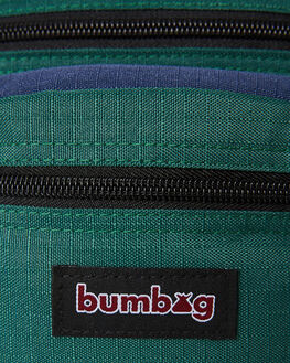 FOREST GREEN NAVY MENS ACCESSORIES THE BUMBAG CO BAGS + BACKPACKS - CO054FGRN