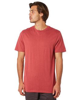 BURGUNDY MENS CLOTHING VOLCOM TEES - A5011530BUR