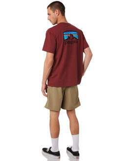 OXIDE RED MENS CLOTHING PATAGONIA TEES - 38440OXDR
