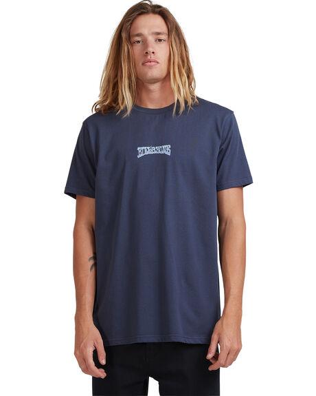 DENIM BLUE MENS CLOTHING BILLABONG TEES - 9513036-DNB