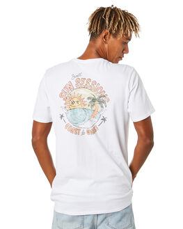 WHITE MENS CLOTHING SWELL TEES - S5204006WHITE