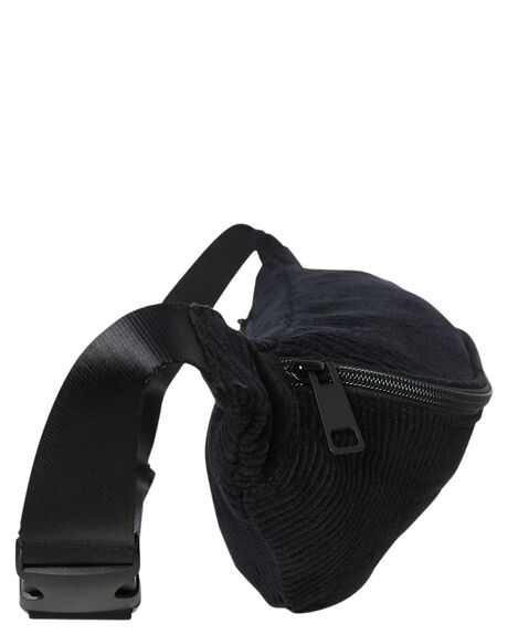BLACK MENS ACCESSORIES STUSSY BAGS + BACKPACKS - ST791013BLK