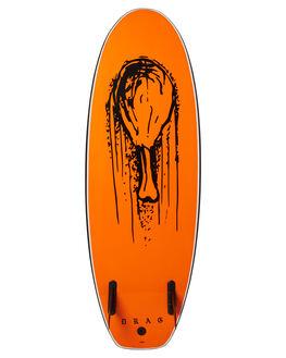 BLACK ORANGE BOARDSPORTS SURF DRAG FUNBOARD - DBCDRUMBLKOR