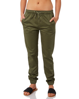 KHAKI WOMENS CLOTHING SWELL PANTS - S8161195KHAKI