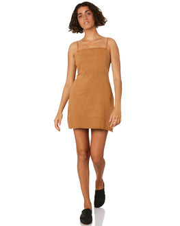 TOBACCO WOMENS CLOTHING THRILLS DRESSES - WTDP-924JTOB