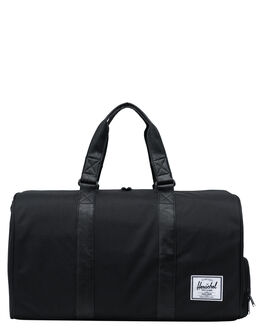 BLACK BLACK MENS ACCESSORIES HERSCHEL SUPPLY CO BAGS + BACKPACKS - 10026-00535-OSBLKBK