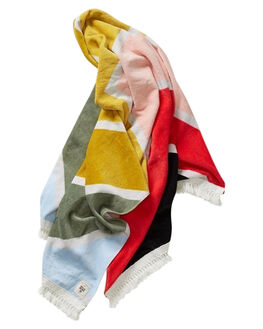SUNSET RED WOMENS ACCESSORIES BILLABONG TOWELS - 6682726ARED