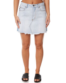 SALT BLUE WOMENS CLOTHING RUSTY SKIRTS - SKL0435STE
