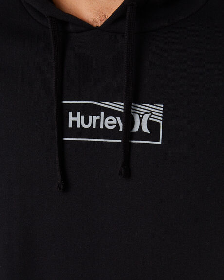 BLACK MENS CLOTHING HURLEY JUMPERS - CT0707010