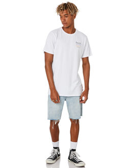 WHITE MENS CLOTHING SWELL TEES - S5203000WHITE