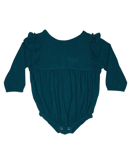 TEAL KIDS BABY CHILDREN OF THE TRIBE CLOTHING - BBRM0369TEAL