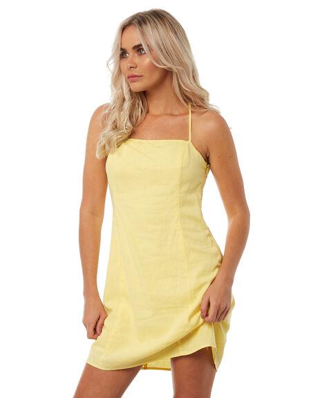YELLOW WOMENS CLOTHING INSIGHT DRESSES - 5000002448YEL