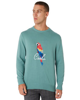 TEAL MENS CLOTHING BARNEY COOLS KNITS + CARDIGANS - 401-CC2-TEAL