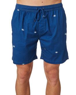 NAVY MENS CLOTHING SWELL BOARDSHORTS - S5182235NAVY