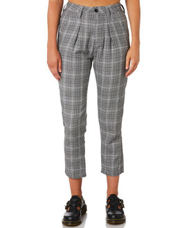 LONDON CHECK OUTLET WOMENS THRILLS PANTS - WTA9-403GZLON