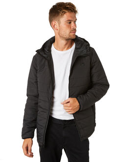 BLACK MENS CLOTHING BILLABONG JACKETS - 9595917BLK