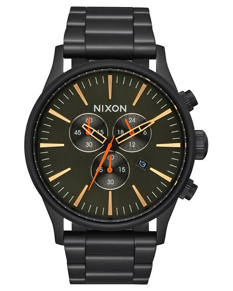 ALL BLACK  SURPLUS MENS ACCESSORIES NIXON WATCHES - A3861032