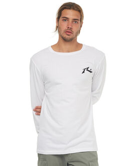 WHITE MENS CLOTHING RUSTY TEES - TTM1880WHT