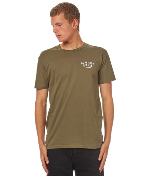 ARMY MENS CLOTHING UPPERCUT TEES - UPDTS0534ARMY