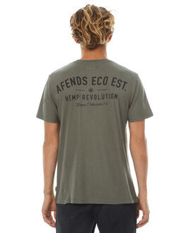 DUSTY OLIVE MENS CLOTHING AFENDS TEES - 01-10-003DOLIV