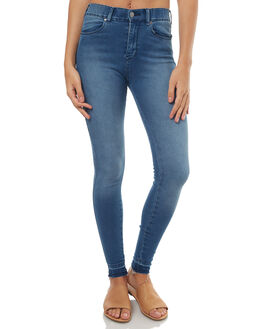 MID INDIGO WOMENS CLOTHING DR DENIM JEANS - 1510111G47