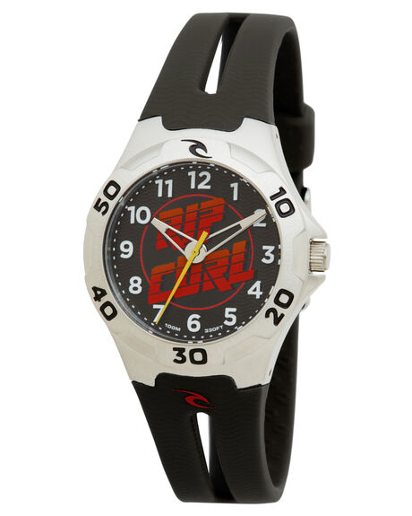 BLACK RED MENS ACCESSORIES RIP CURL WATCHES - A27054019