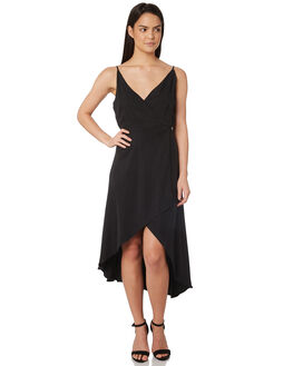 BLACK WOMENS CLOTHING JORGE DRESSES - 8320054BLK
