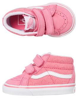 PINK KIDS GIRLS VANS FOOTWEAR - VNA348JV3Y
