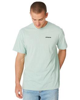 LITE DISTILLED GREEN MENS CLOTHING PATAGONIA TEES - 39174LDSG