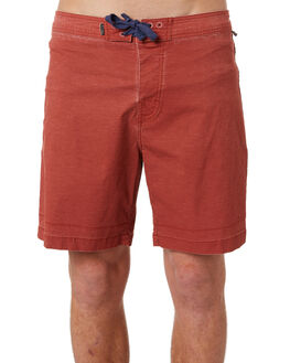 RED CENTRE OUTLET MENS THE CRITICAL SLIDE SOCIETY BOARDSHORTS - BS1856RED