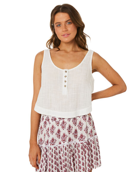 WHITE OUTLET WOMENS RIP CURL FASHION TOPS - GSHZN31000