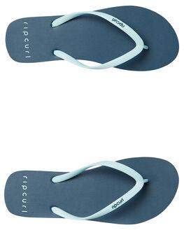 BABY BLUE WOMENS FOOTWEAR RIP CURL THONGS - TWT4311632