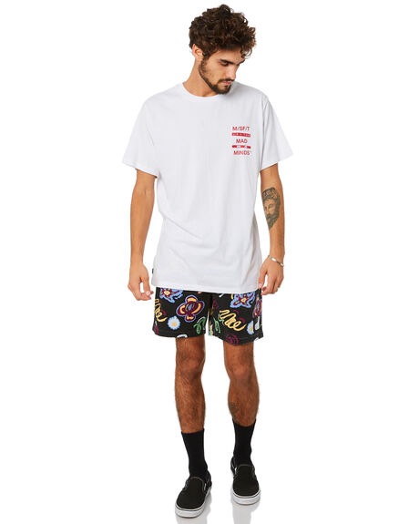 WASHED WHITE MENS CLOTHING MISFIT TEES - MT093002WSHWH