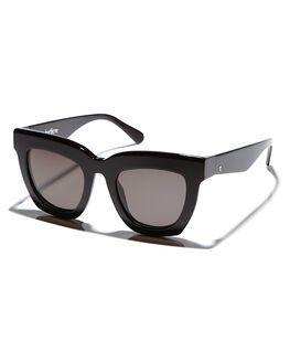 GLOSS BLACK UNISEX ADULTS VALLEY SUNGLASSES - S0295GLBLK