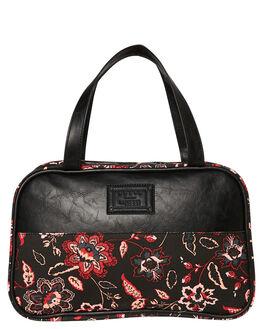 BLACK WOMENS ACCESSORIES RUSTY BAGS + BACKPACKS - TRL0255BLK