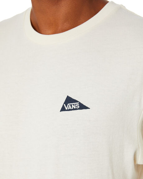ANTIQUE WHITE MENS CLOTHING VANS TEES - VN0A49PS3KSANTWH