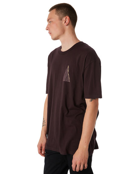WINE MENS CLOTHING GLOBE TEES - GB01830035WINE