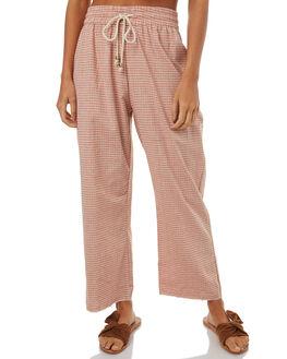 TERRACOTTA WOMENS CLOTHING SAINT HELENA PANTS - SH2A121JTERRA