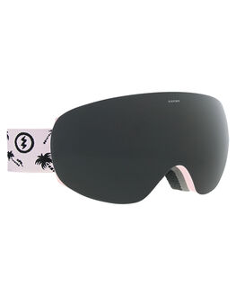 POSSY PINK JET BLACK BOARDSPORTS SNOW ELECTRIC GOGGLES - EG1518301PPKBK