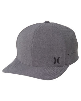 BLACK HEATHER MENS ACCESSORIES HURLEY HEADWEAR - AH9627032